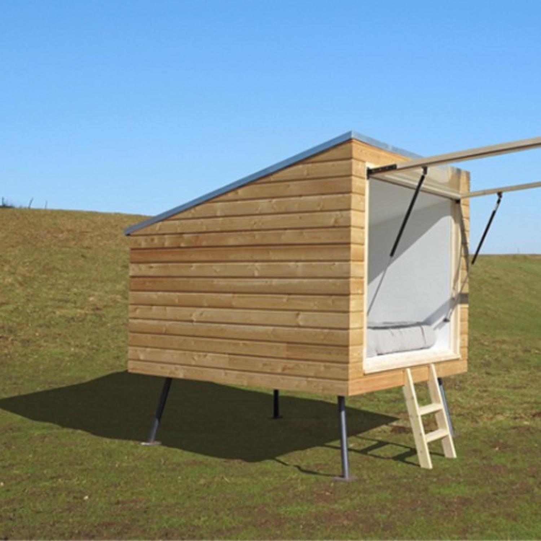 Chambre avec vue - micro architecture - hébergement (touristique) de plein air