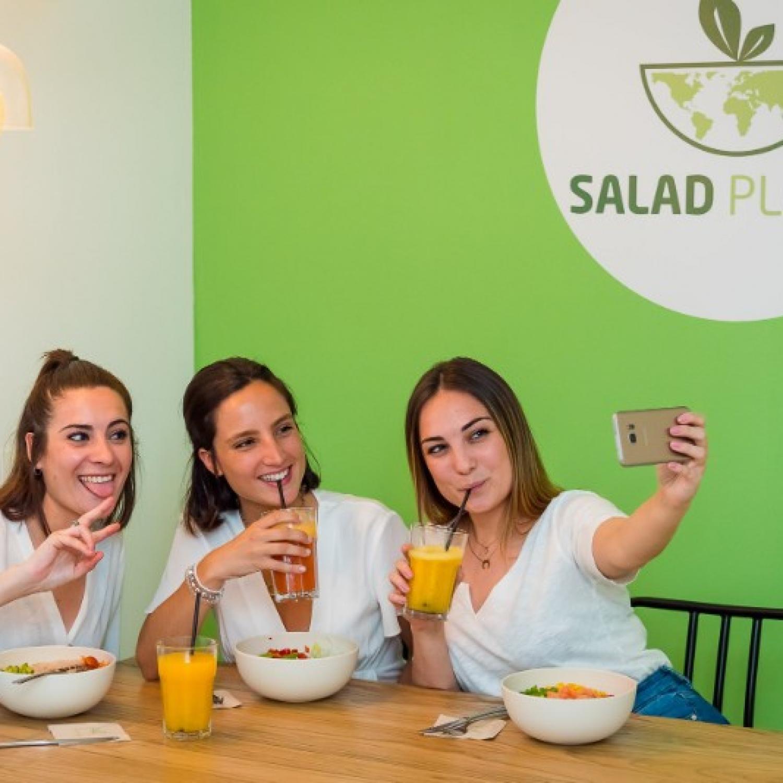 SALAD PLANET - restaurant healphy / sain pour tous - Valence Espagne